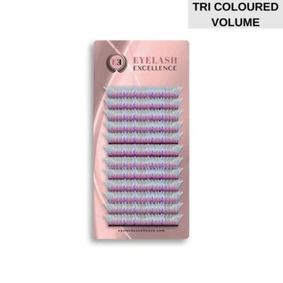 COLOR LASHES VOLUME TRI-COLOURED