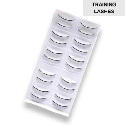 training lashes for mannequin heads