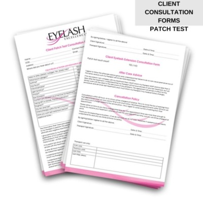 patch test consultation form