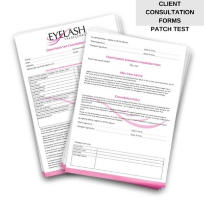 EYELASH CONSULTATION FORMS