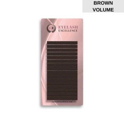 BROWN VOLUME LASHES