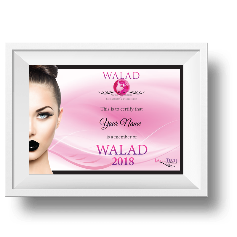 WALAD Certificate